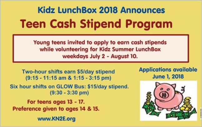 2018.Teen.Stipends